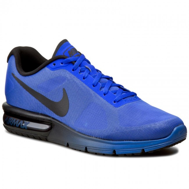 Buty NIKE - Air Max Sequent 719912 406 Racer Blue/Black