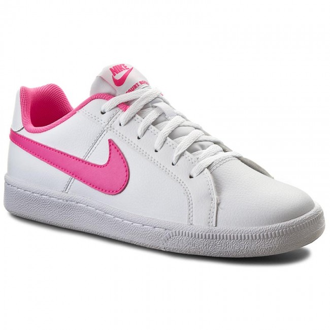 Buty NIKE - Court Royale (GS) 833654 106 White/Pink Blast