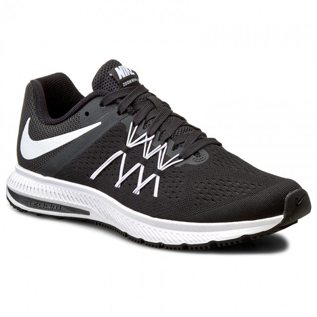 Buty NIKE - Zoom Winflo 3 831561 001 Black/White/Anthracite
