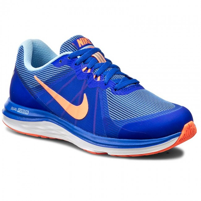 Buty NIKE - Dual Fusion X 2 819318 401 Rcr Blue/Brght Mng/Blcp/White