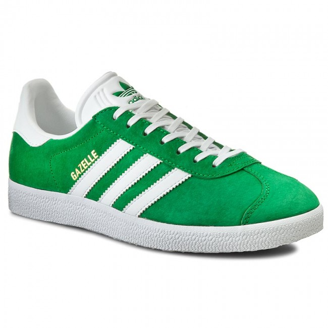 da440ea3ea4095 Buty adidas - Gazelle BB5477 Green/White/Goldmt - Sneakersy ...
