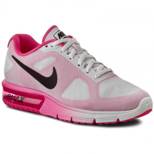 Buty NIKE - Air Max Sequent 719916 106 White/Black/Pink Blast
