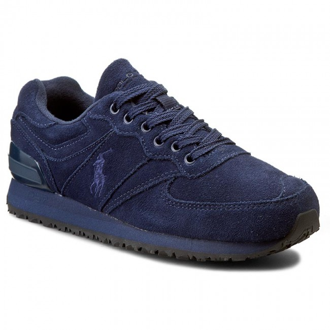 Sneakersy POLO RALPH LAUREN - Salton Pony Sneakers Athletic A85 XZ07A XY07A XW089 Newport Navy 809623435003