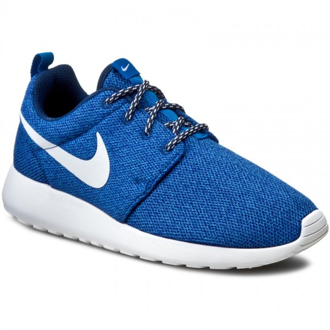 outlet store c5ac3 4e761 Buty NIKE - Roshe Run 844994 400 Coastal Blue White Blue Spark