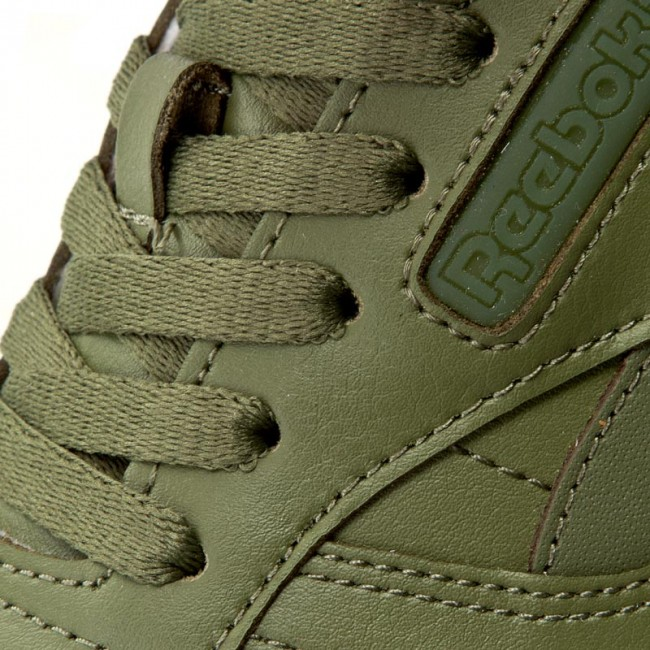 Sklep Buty Reebok Classic Leather Solids Canopy Green BD1322