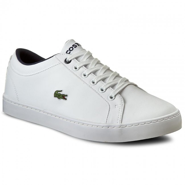 Sneakersy LACOSTE Straightset Lace 316 2 7 32SPJ0126001 Wht