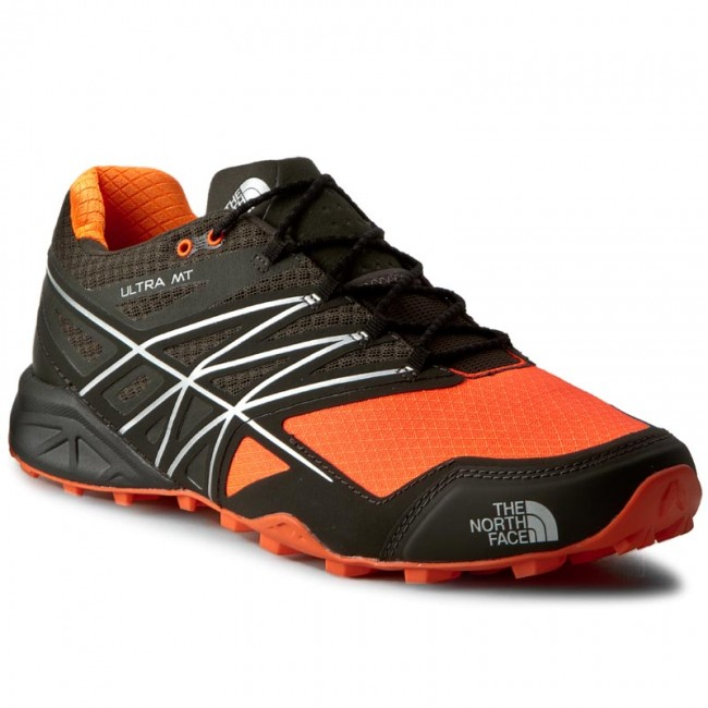 Buty THE NORTH FACE - Ultra Mt T0CCN7AYS Black Ink Green/Power Orange