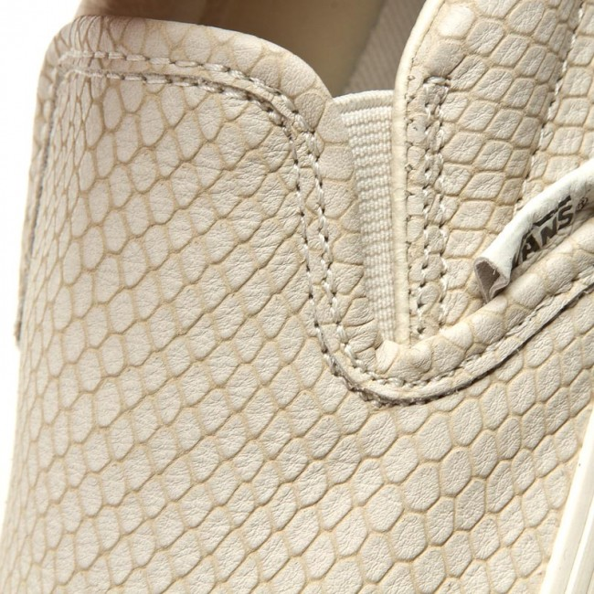Snake Leather Classic Slip on +