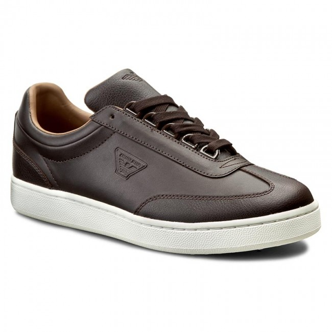 Sneakersy ARMANI JEANS - 935024 6A428 04552 Brown After Da