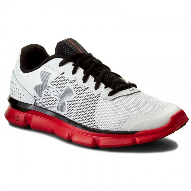 Buty UNDER ARMOUR - Ua Micro G Speed Swift 1266208-100 Wht/Rtr/Blk