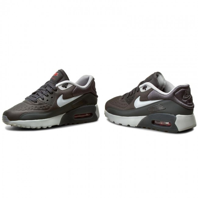 Buty NIKE Air Max 90 Ultra SE (GS) 844599 005 AnthraciteWolf GreyGym Red