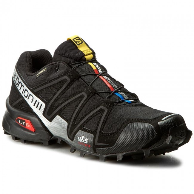 Buty SALOMON Speedcross 3 GTX 356467 29 G0 BlackBlackSilver Metallic X