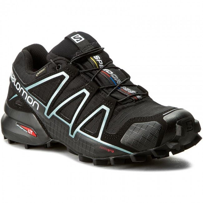 Buty SALOMON Speedcross 4 Gtx W GORE TEX 383187 20 G0 BlackBlack