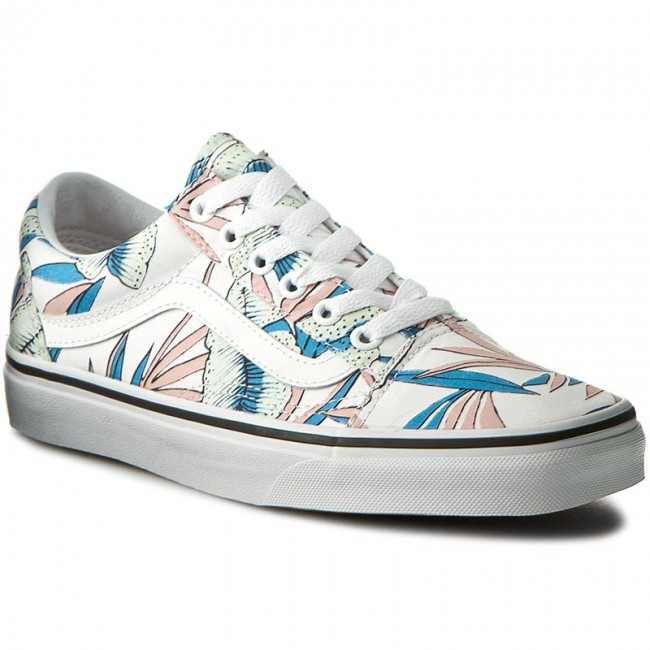 Tenisówki VANS Old Skool VN0A38G1MQN (Tropical Leaves) True White