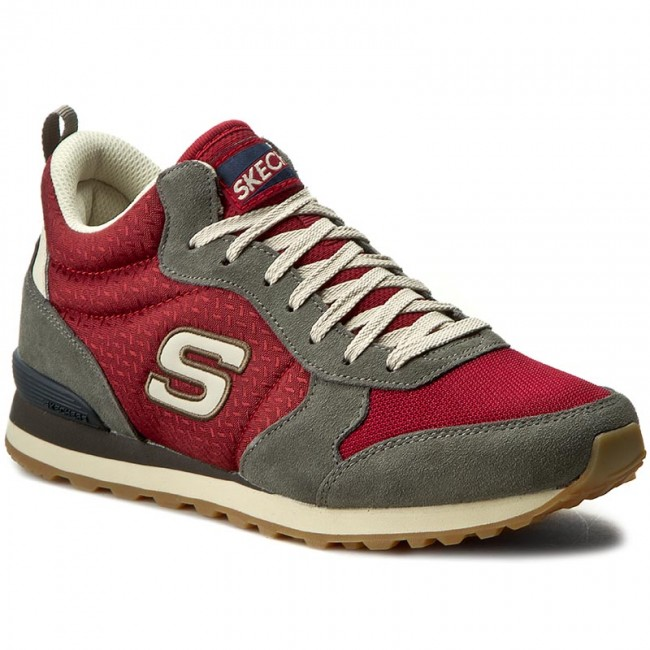Sneakersy SKECHERS - Bueller 52330/CCRD Charcoal/Red