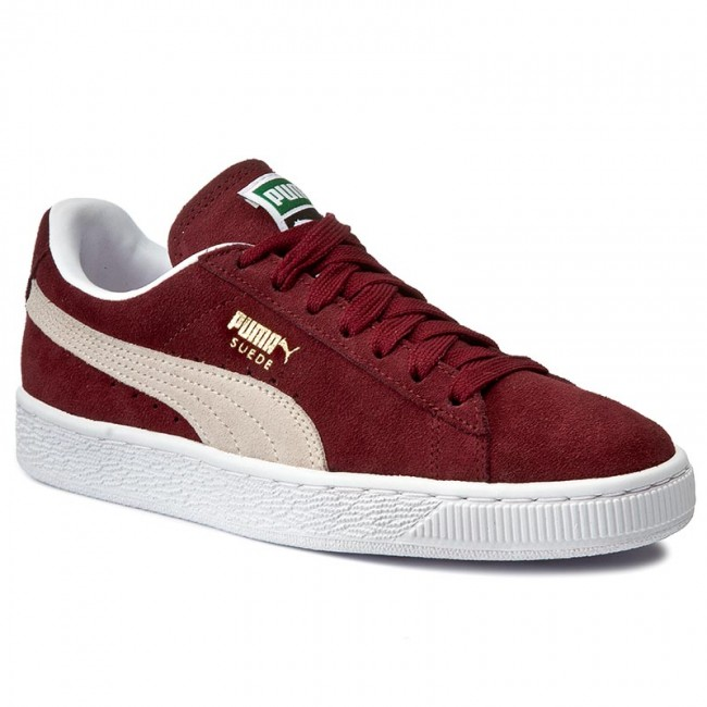 472cfd56 Sneakersy PUMA - Suede Classic+ 352634 75 Cabernet/White - Sneakersy ...