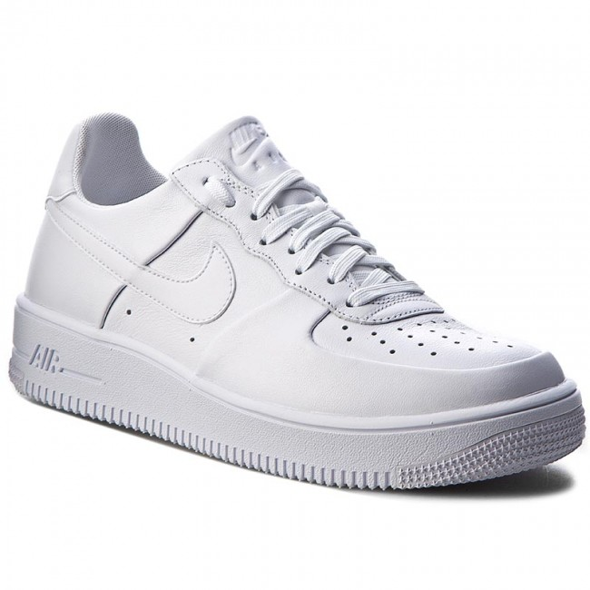 Buty NIKE Air Force 1 Ultraforce Lthr 845052 100 WhiteWhiteWhite