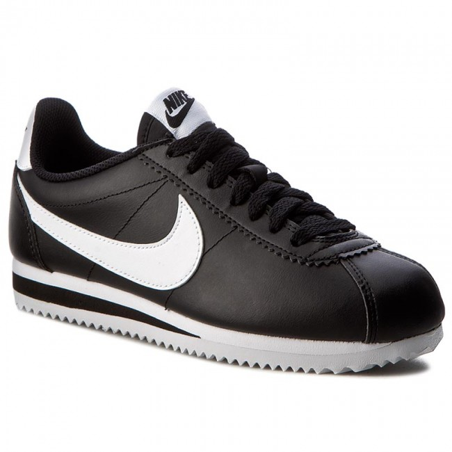 the best attitude b44b9 5bea8 Buty NIKE - Classic Cortez Leather 807471 010 Black White White