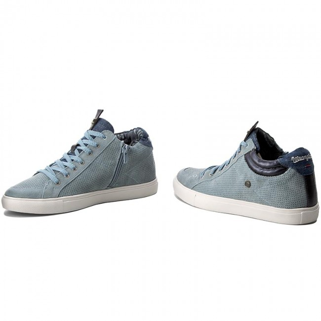 Sneakers WRANGLER Ivy Punch Mid WF07802SP Blue Jeans