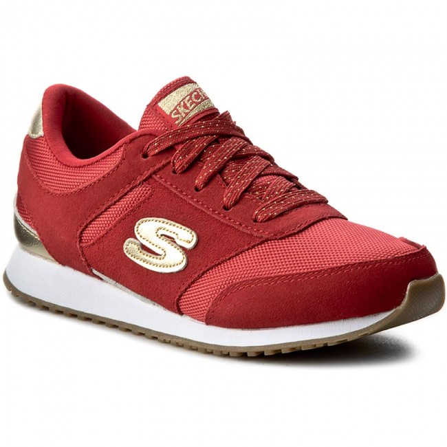 Sneakersy SKECHERS - Gold Fever 177/RDGD Red/Gold