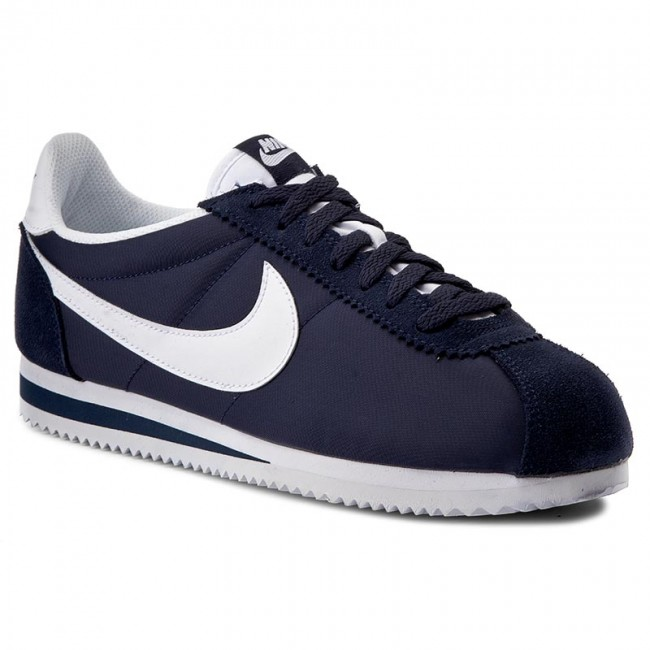 info for 4be0d 3d2ee Buty NIKE - Classic Cortez Nylon 807472 410 Obsidian White