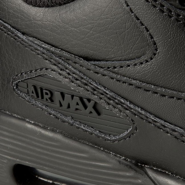 Buty NIKE Air Max 90 Ltr (GS) 833412 001 BlackBlack