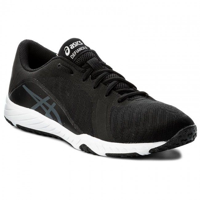 Buty ASICS Defiance X S708N BlackCarbonWhite 9097