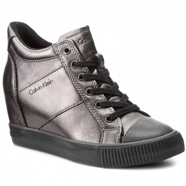 Sneakersy CALVIN KLEIN JEANS - Voss R0607  Anthracite
