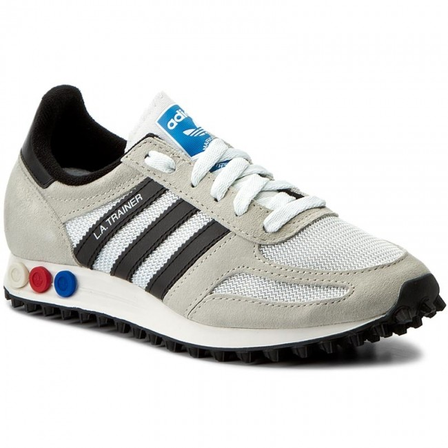 01d187f0f Buty adidas - La Trainer Og BY9322 Vinwht/Cblack/Cbrown - Sneakersy ...