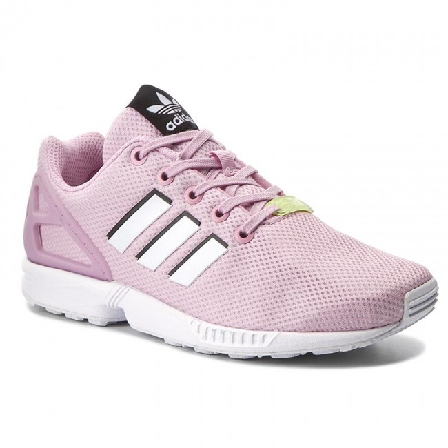 new style 1a40b d2c78 Buty adidas - Zx Flux J BY9826 Fropnk/Ftwwht/Ftwwht