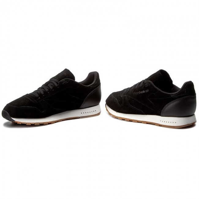 Buty Reebok Cl Leather Sg BS7892 BlackChalk Gum