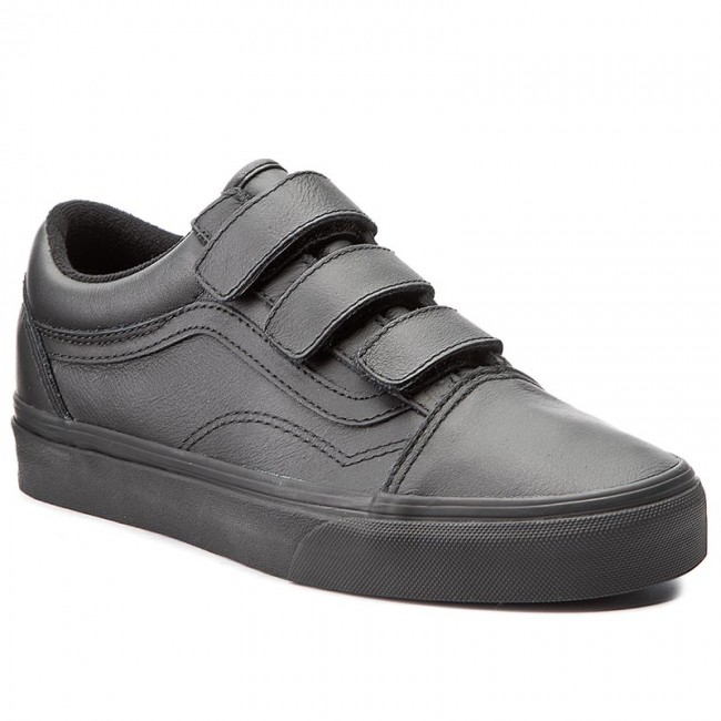 Półbuty VANS Old Skool V VA3D29OOZ (Mono Leather) Black