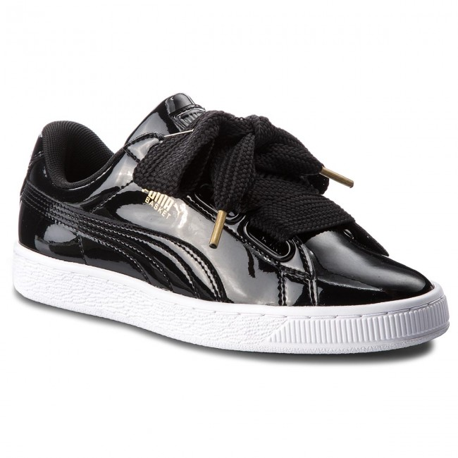 Sneakersy PUMA Basket Heart Patent 363073 01 Puma BlackPuma Black