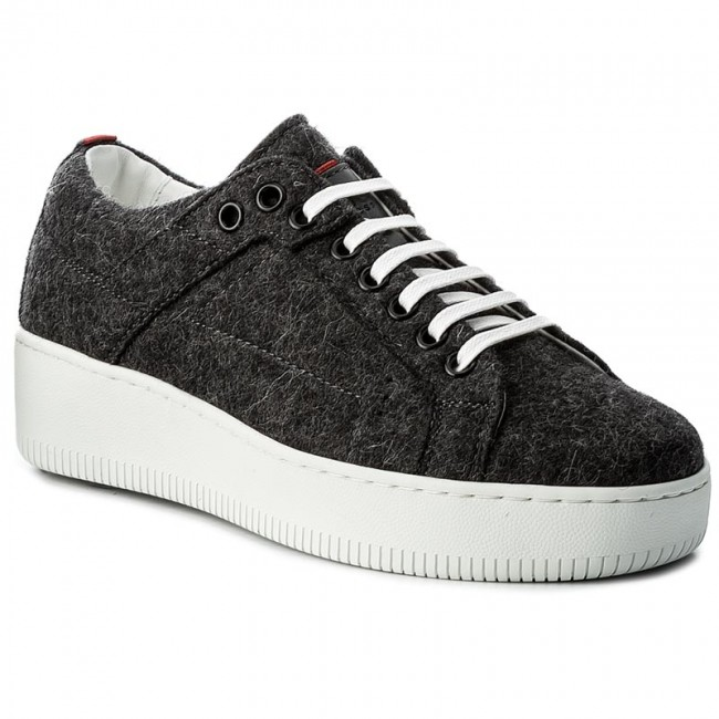 Sneakersy HUGO - Margaret-FT 50376711 10202341 01 Charcoal 011