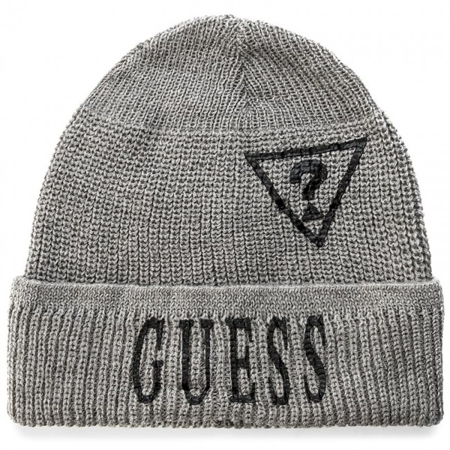 Czapka GUESS - Country & Westren-Not Coordinated Wool M AM6524 WOL01 GRY