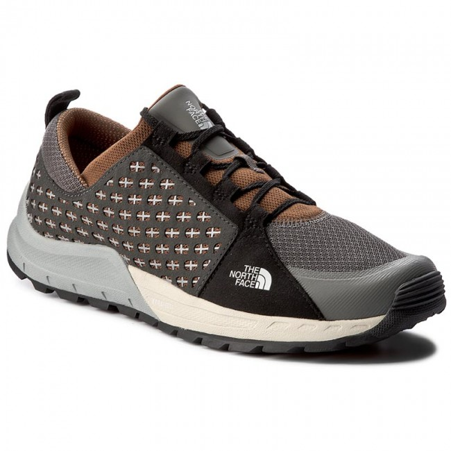 Półbuty THE NORTH FACE - Mountain Sneaker T932ZUYUN Graphite Grey/Tagumi Brown
