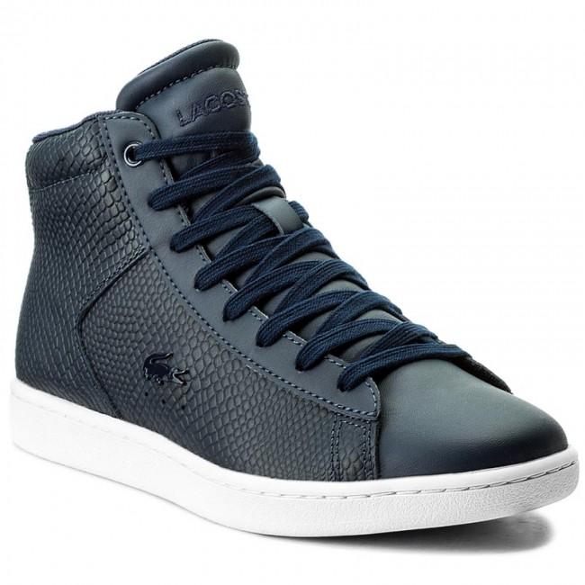 Sneakersy LACOSTE - Carnaby Evo Mid 317 2 Spw 7-34SPW0015003 Nvy
