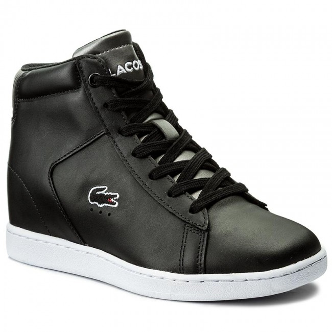 Sneakersy LACOSTE - Carnaby Evo Wedge 317 3 Spw 7-34SPW0016024 Blk