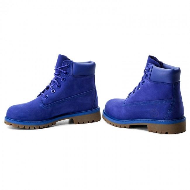 Trapery TIMBERLAND 6 In Premium Wp Boot A1MM5 Royal Blue