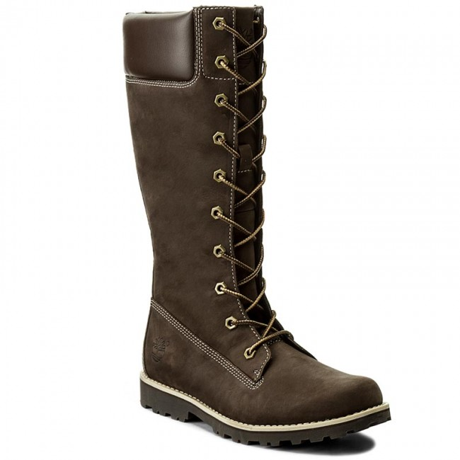 Kozaki TIMBERLAND - Asphltrl Cls Tall 83982  Dark Brown