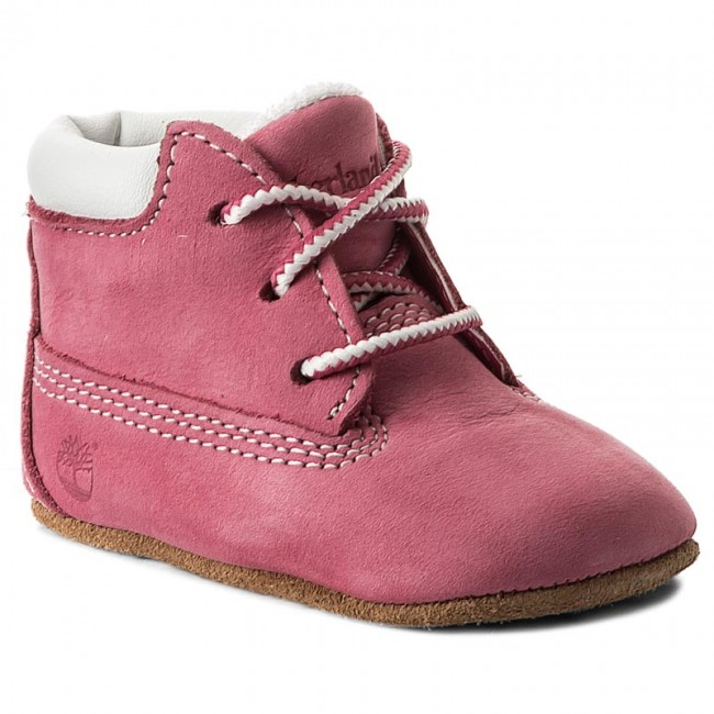 Trzewiki TIMBERLAND - Crib Bootie With Hat 9680R/TB09680R6611 Pink/Pink