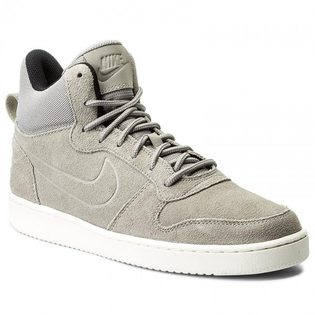 Buty NIKE Court Borough Mid Prem 844884 006 CobblestoneCobblestoneSail
