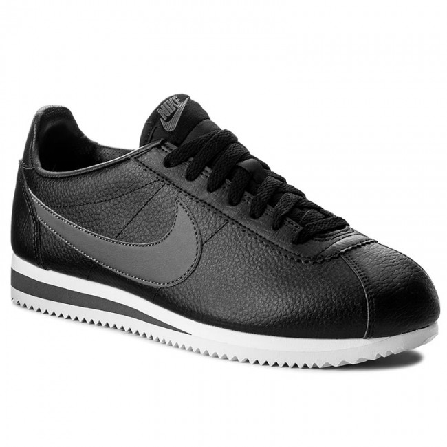 ad58b9a1277a94 Buty NIKE - Classic Cortez Leather 749571 011 Black/Dark Grey/White ...