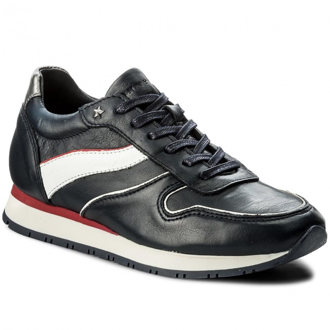 Sneakersy TOMMY HILFIGER - Izzy 1A2 FW0FW01945 Midnight/White/Tango Red/Silver 901