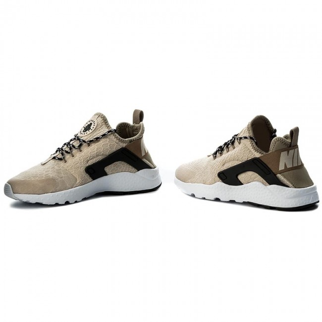Buty NIKE W Air Huarache Run Ultra Se 859516 100 OatmealOatmealKhakiBlack