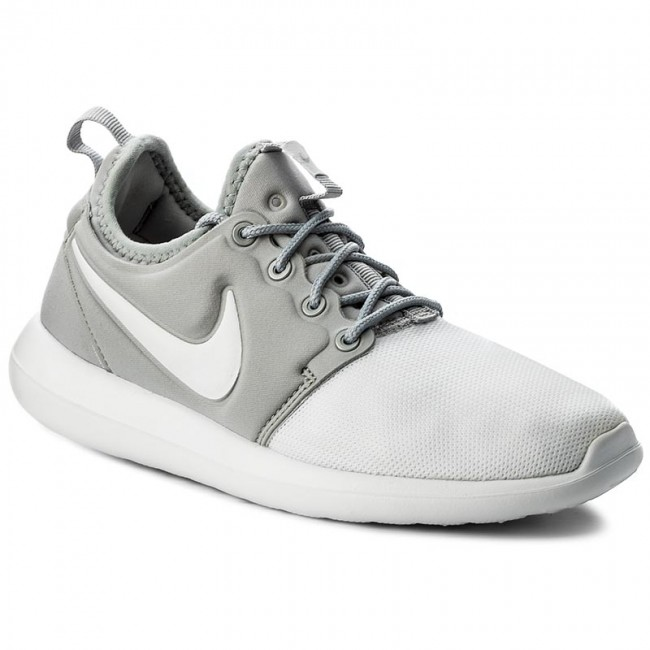 Buty NIKE Roshe Two (GS) 844653 100 WhiteWhiteMetallic Silver