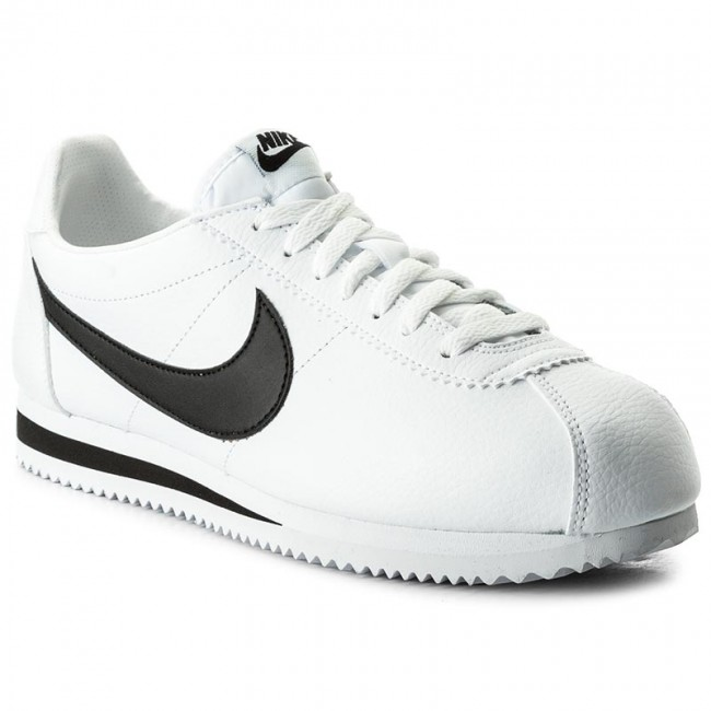 ef9de04156adf1 Buty NIKE - Classic Cortez Leather 749571 100 White/Black ...