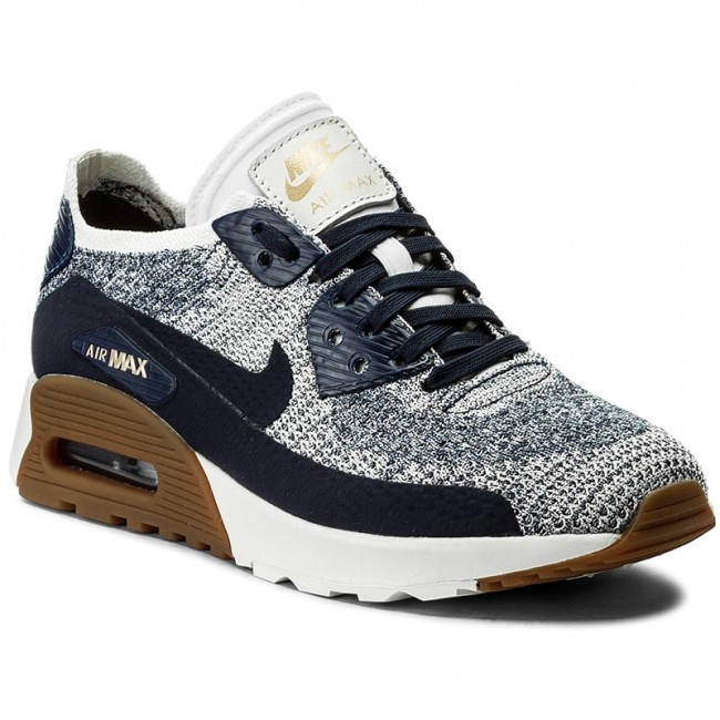 Buty NIKE W Air Max 90 Ultra 2.0 Flyknit 881109 400 College NavyCollege Navy