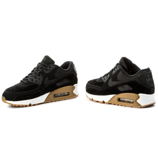 Buty NIKE Wmns Air Max 90 Se 881105 003 BlackBlackGum Light Brown