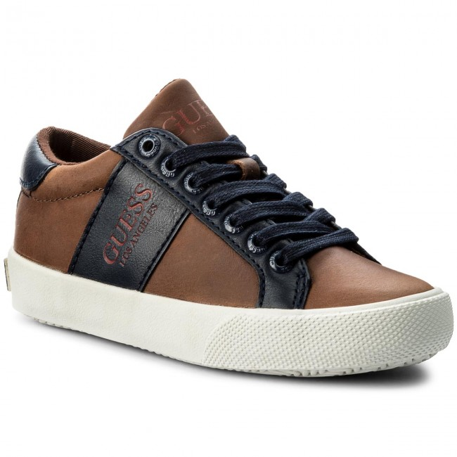 Sneakersy GUESS - FITHE1 LEA12 TAN